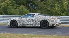 Corvette C8: ecco le nuove foto spy dal Nurburgring (video) - Immagine: 18