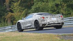 Corvette C8: ecco le nuove foto spy dal Nurburgring (video) - Immagine: 21