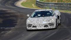 Corvette C8: ecco le nuove foto spy dal Nurburgring (video) - Immagine: 24
