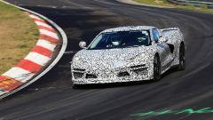 Corvette C8: ecco le nuove foto spy dal Nurburgring (video) - Immagine: 1