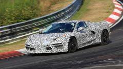 Corvette C8: ecco le nuove foto spy dal Nurburgring (video) - Immagine: 26