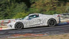 Corvette C8: ecco le nuove foto spy dal Nurburgring (video) - Immagine: 28