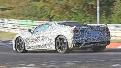 Corvette C8: ecco le nuove foto spy dal Nurburgring (video) - Immagine: 29