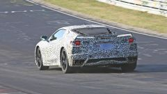 Corvette C8: ecco le nuove foto spy dal Nurburgring (video) - Immagine: 31