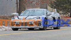 Corvette C8 PHEV: il frontale