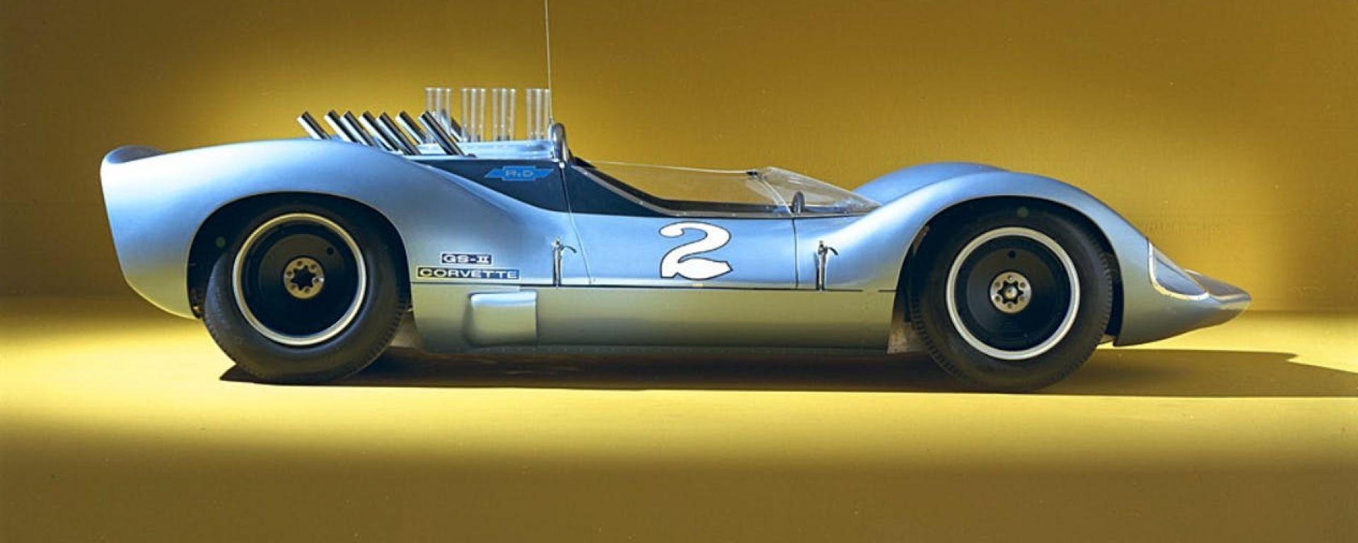 Corvette GS IIB del 1964: vista laterale del prototipo