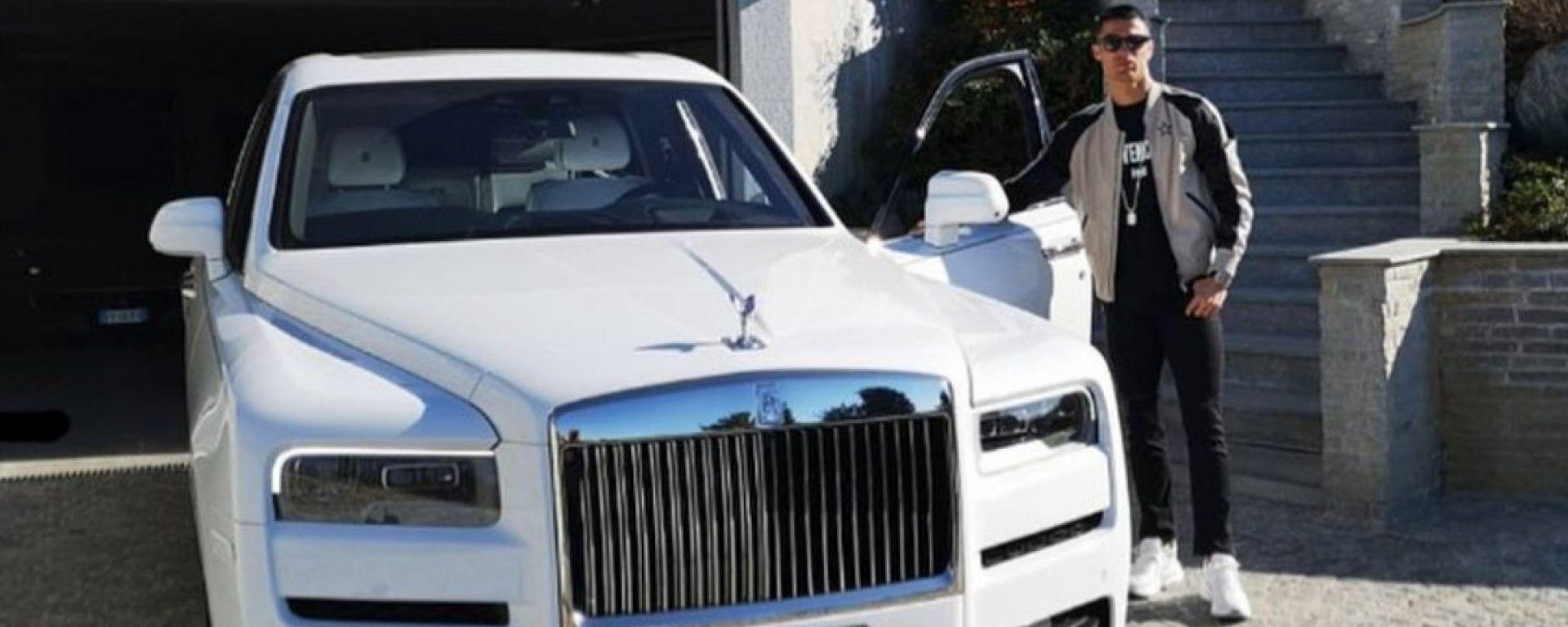 CR7: la Rolls-Royce Cullinan di Cristiano Ronaldo