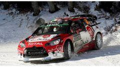 Craig Breen sulla DS3 del team Citroen DS WRC