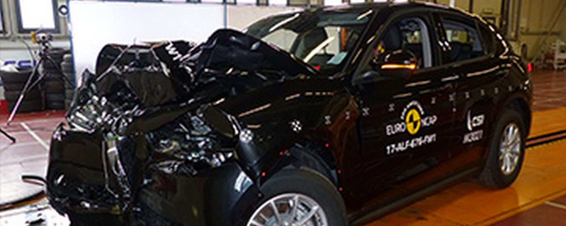 Crash Test Euro NCAP: Alfa Romeo Stelvio