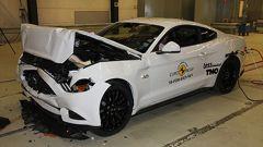 Crash Test Euro NCAP: Ford Mustang