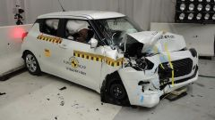 Crash test Euro Ncap Suzuki Swift