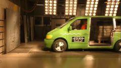 Crash test: incidenti e cinture di sicurezza nel video YouTube