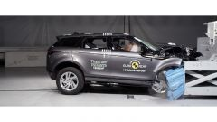 Crash Test Range Rover Evoque 2019 impatto frontale