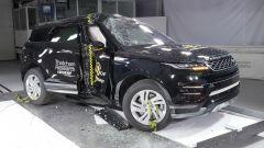 Crash Test Range Rover Evoque 2019 impatto laterale