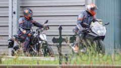 (credits: Motorrad Magazine Austria) La nuova KTM RC 390 durante i collaudi