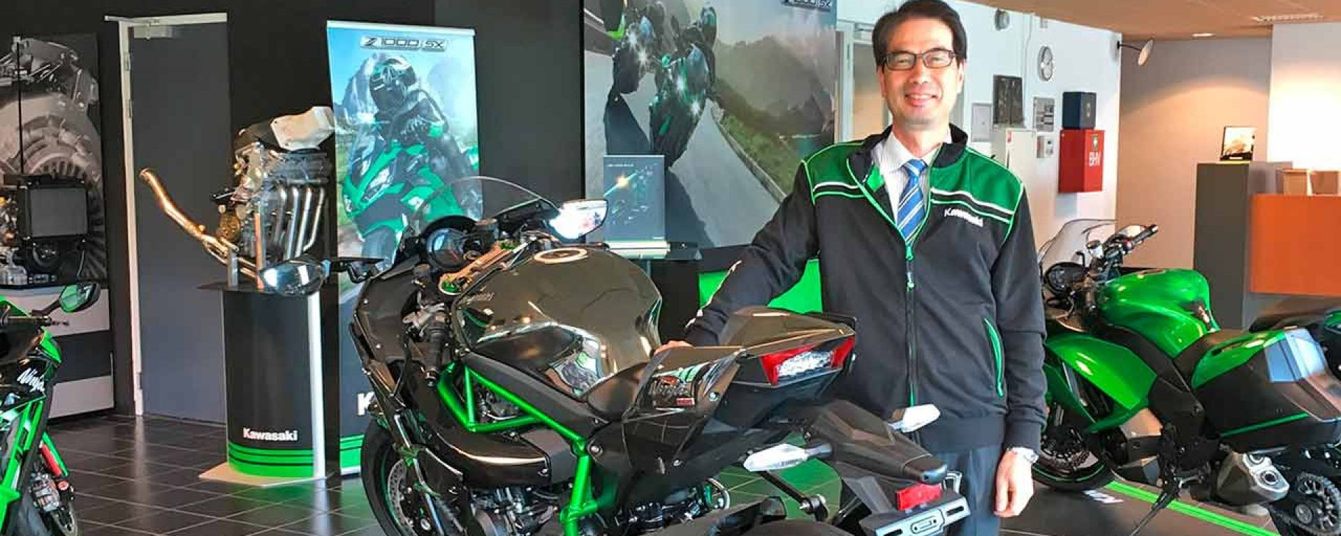 Crisi microchip Kawasaki: le parole del capo di Kawasaki Motors Europe