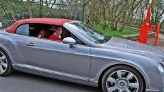 Cristiano Ronaldo Bentlay Continental Cabrio