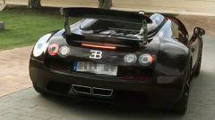 Cristiano Ronaldo Bugatti Veyron rear