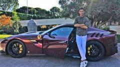 Cristiano Ronaldo Ferrari F12 TDF