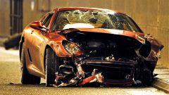 Cristiano Ronaldo Ferrari incidente a Manchester