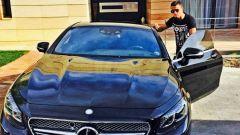 Cristiano Ronaldo Mercedes Classe S AMG