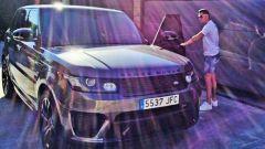 Cristiano Ronaldo Range Rover SVR