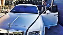 Cristiano Ronaldo Rolls Royce Ghost