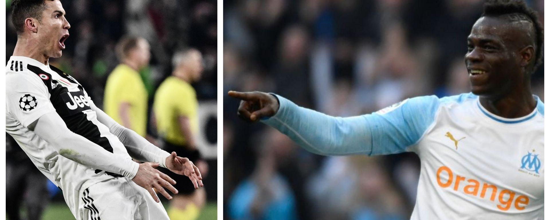 Cristiano Ronaldo vs Mario Balotelli