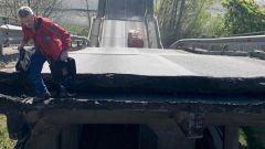 Crollo ponte Albiano Magra, i primi soccorsi