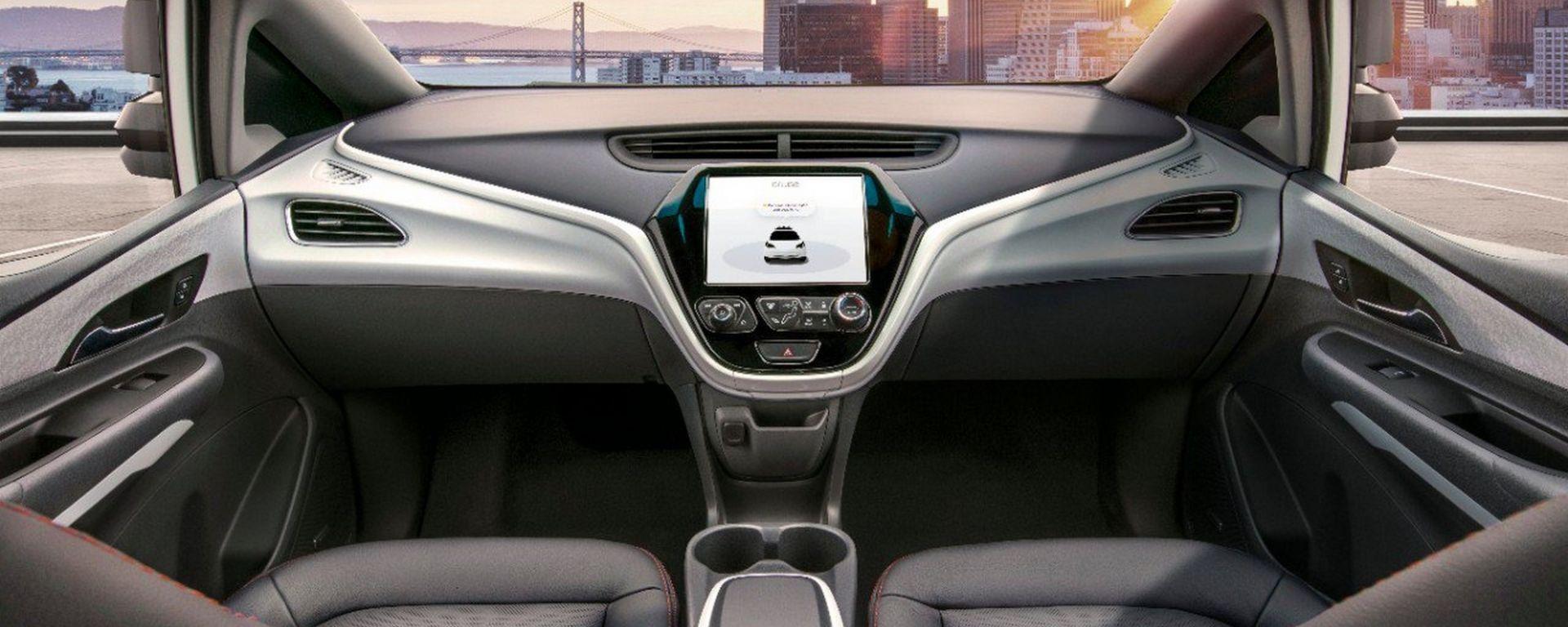 Cruise AV, dal 2019 la GM a guida autonoma senza volante né pedaliera