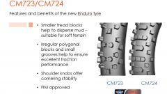 CST Tires lancia le gomme da enduro CM 723 e CM724 - Immagine: 5