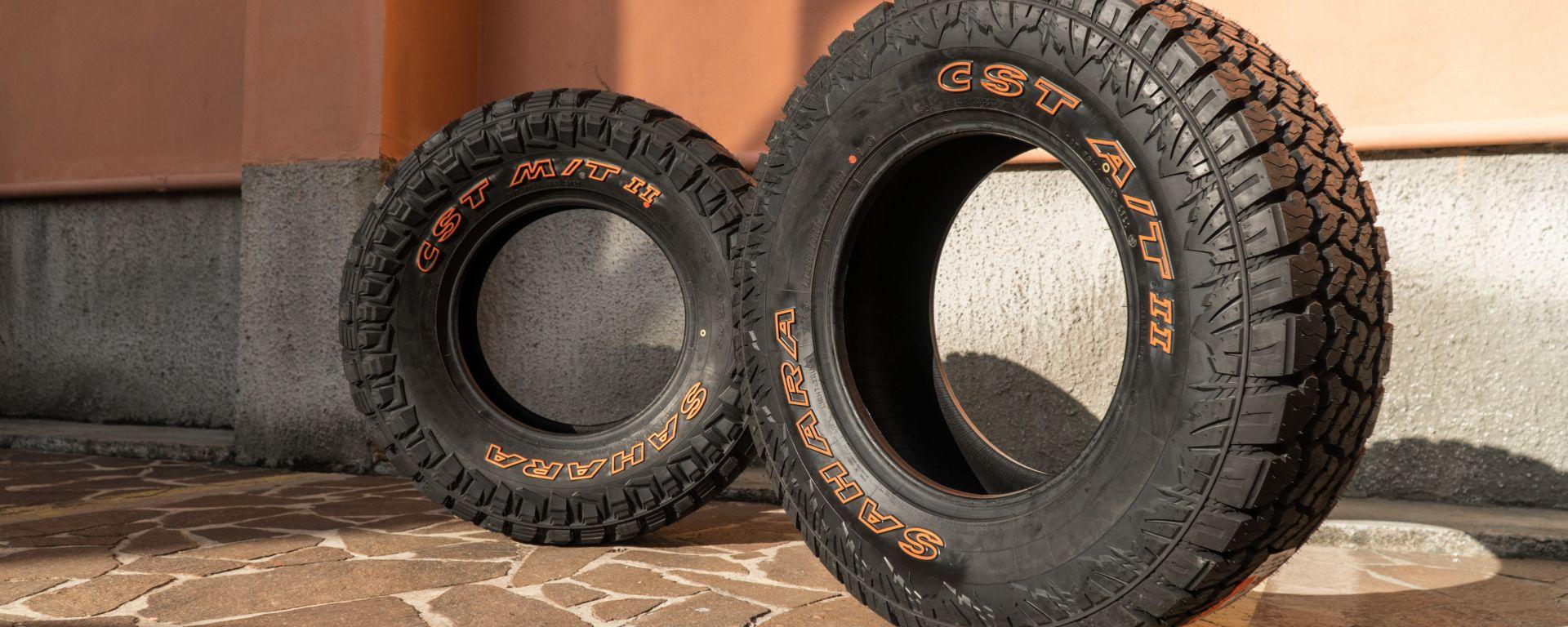 CST Tires Sahara A/T II e M/T II