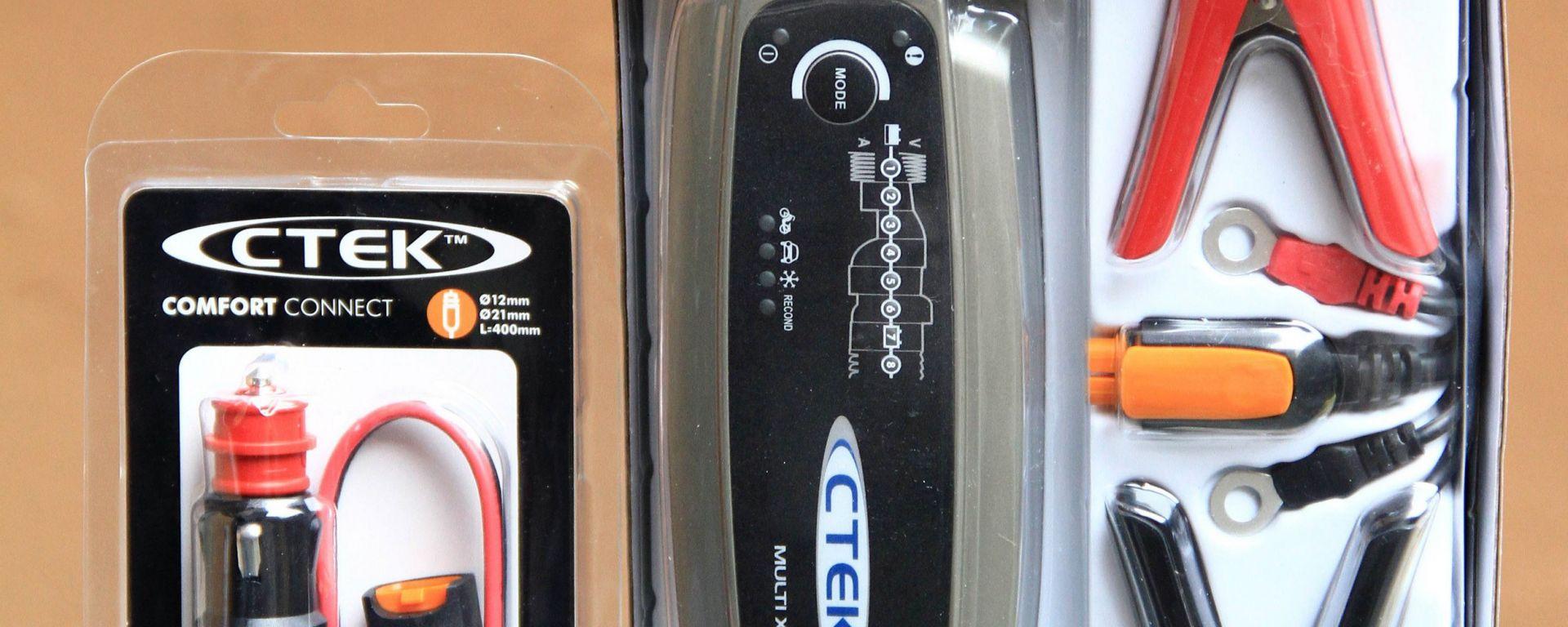 Come salvare la batteria. Il mantenitore di carica Ctek Multi XS 4003
