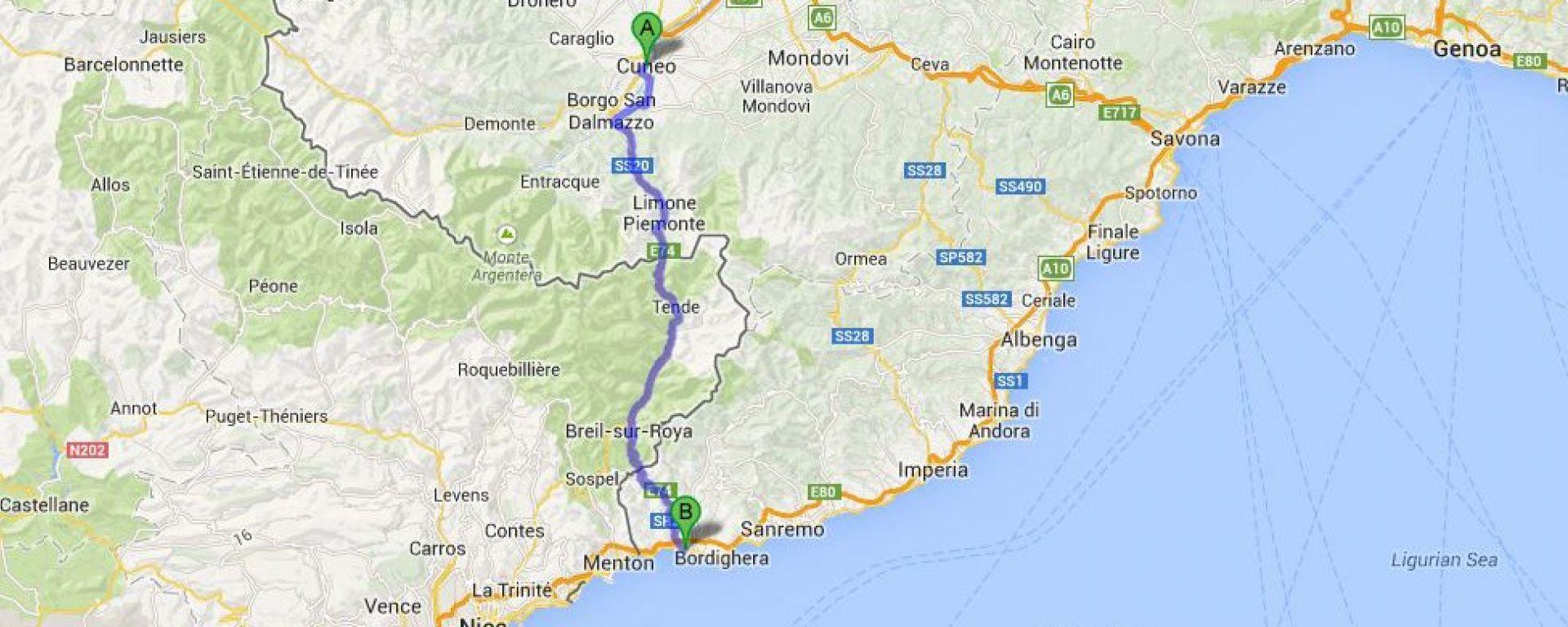 Cuneo - Ventimiglia