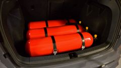 Cupra Ateca CNG di Ecomotive Solutions e Autogas Italia: le bombole sono nel bagagliaio
