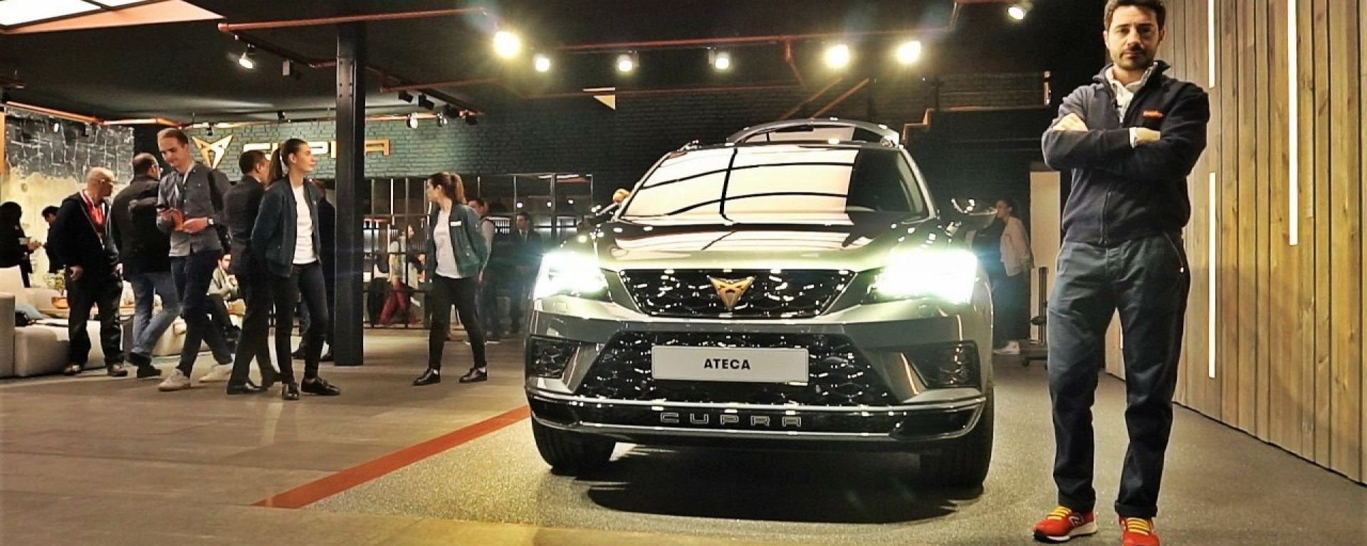 Cupra Ateca: in video dal Salone di Ginevra 2018