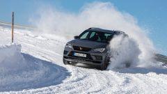 CUPRA Ateca Limited Edition in derapata sulla neve a Davos