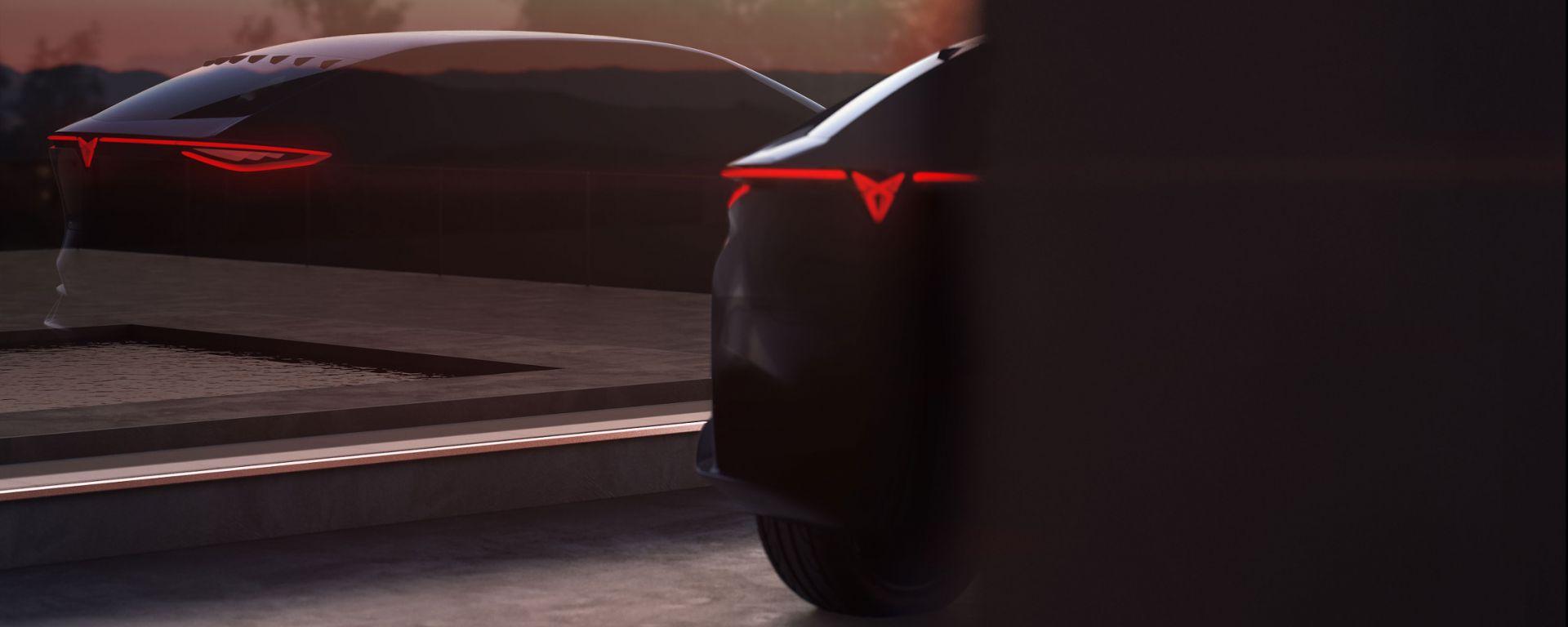 Cupra Concept: vista posteriore