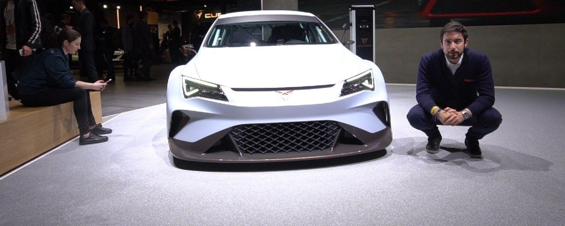 Cupra E-Racer, live Salone di Ginevra 2018
