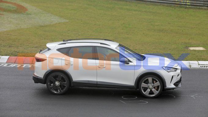 Cupra Formentor 2021: motore preso in prestito dall'Audi RS Q3