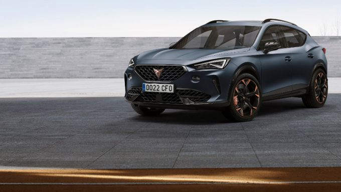 Cupra Formentor: debutta il nuovo SUV sportivo coupé