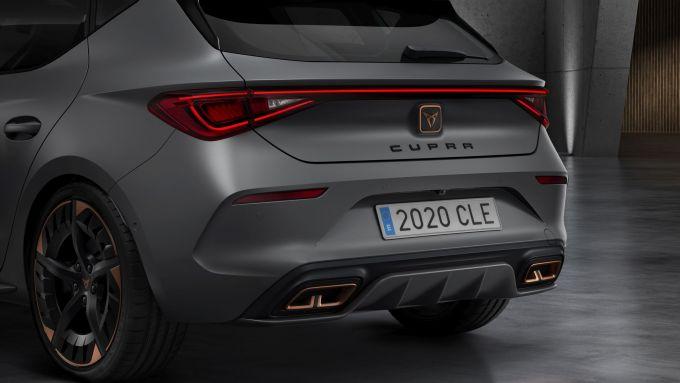 Cupra Leon 2020: il posteriore