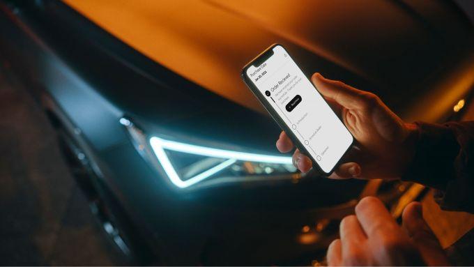 Cupra Priority, personalizzazione dell'auto via app