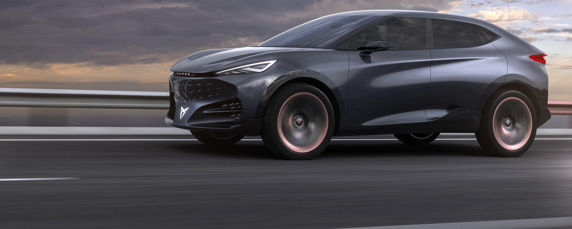 Cupra Tavascan, il SUV coupé elettrico sarà in vendita dal 2024
