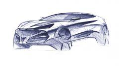 Cupra Tavascan: un bozzetto del Suv-coupé spagnolo