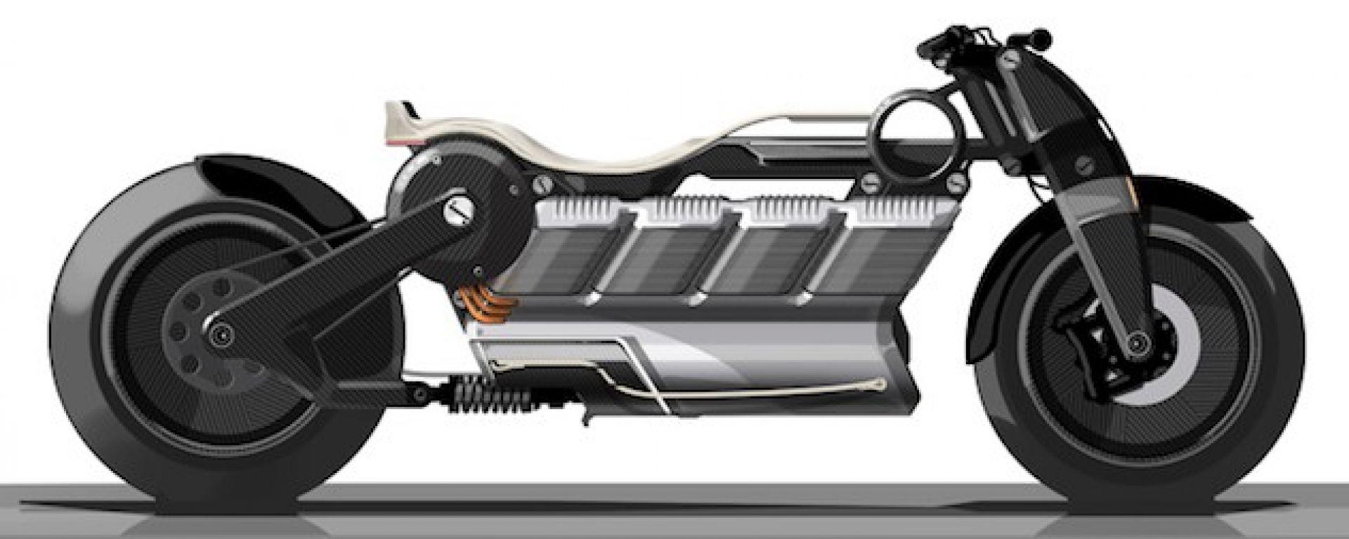 Curtis Hera: la moto V8... elettrica! Eccola a Pebble Beach