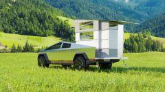 CyberLandr Tesla Cybertruck, il camper elettrico