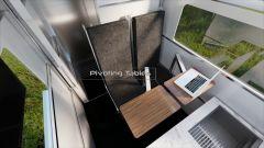CyberLandr Tesla Cybertruck, sedie e tavolini girevoli
