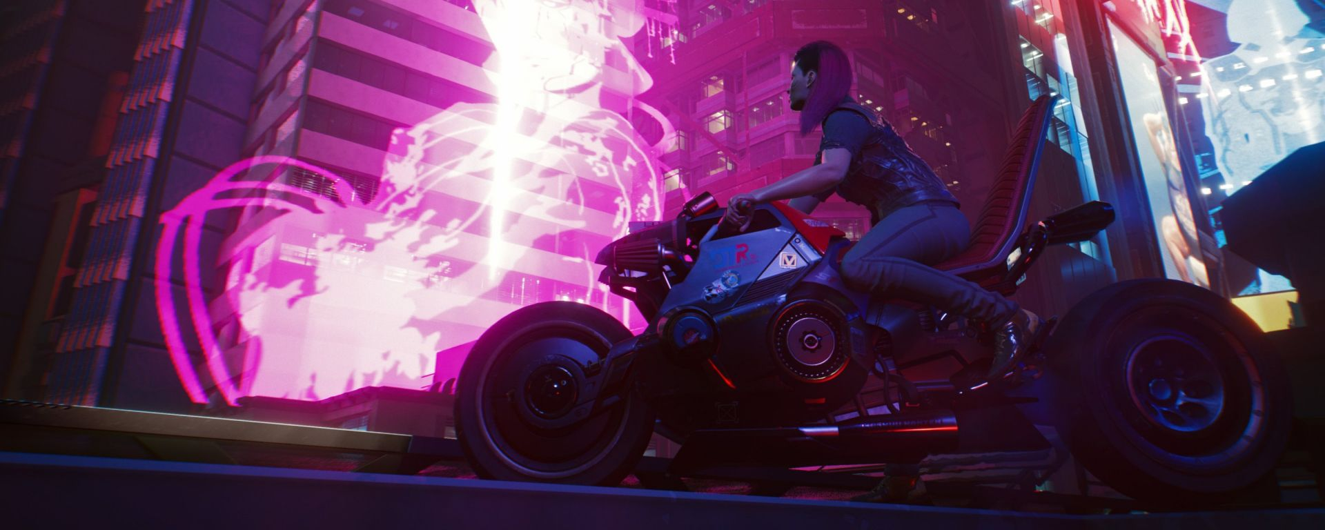 Cyberpunk 2077: le moto di Keanu Reeves nel gioco