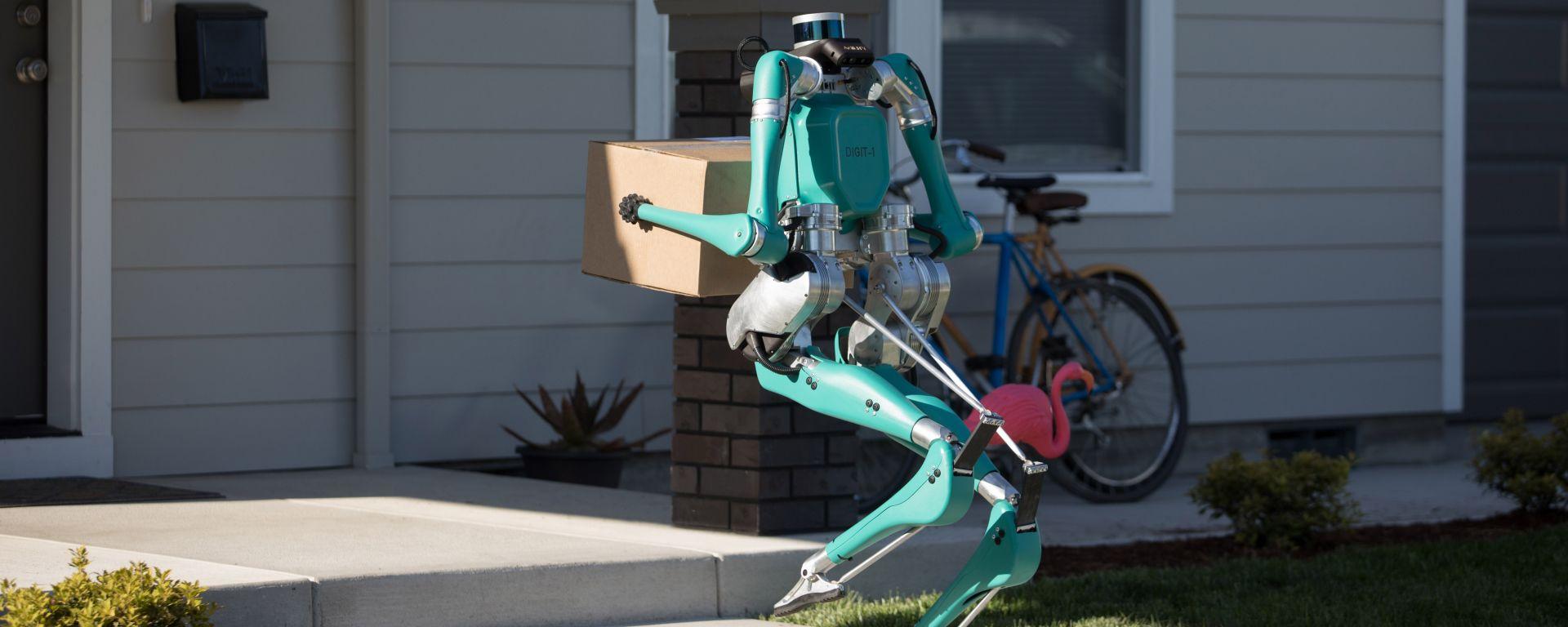 Da Ford e Agility Robotics ecco Digit, il robot per le consegne